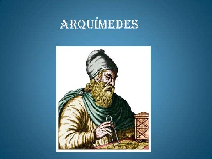 Arquímedes<br />