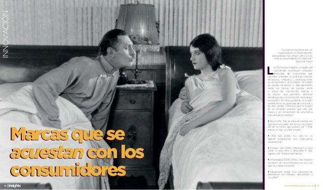 Insights: Marcas que se acuestan con consumidores. Cristina Quiñones en Revista Insights del Ecuador