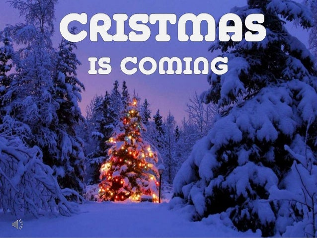 Cristmas is coming