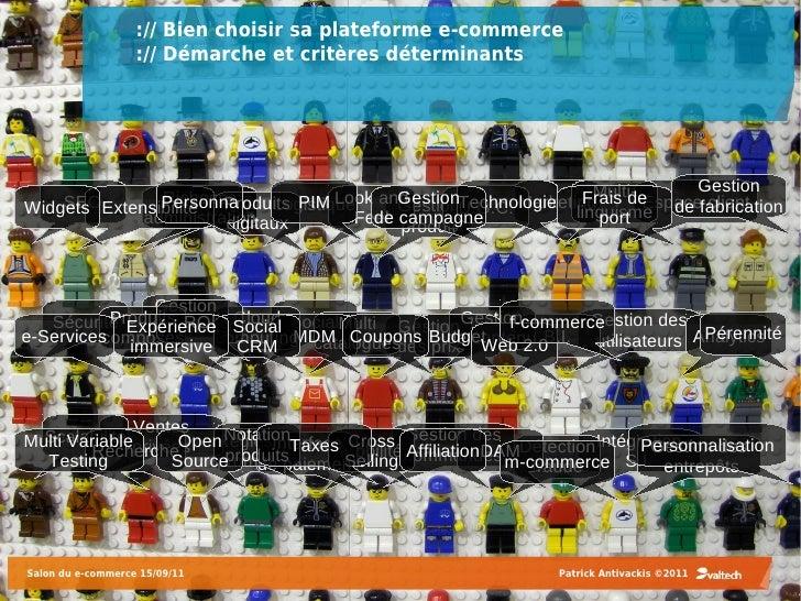:// Bien choisir sa plateforme e-commerce                   :// Démarche et critères déterminants                         ...