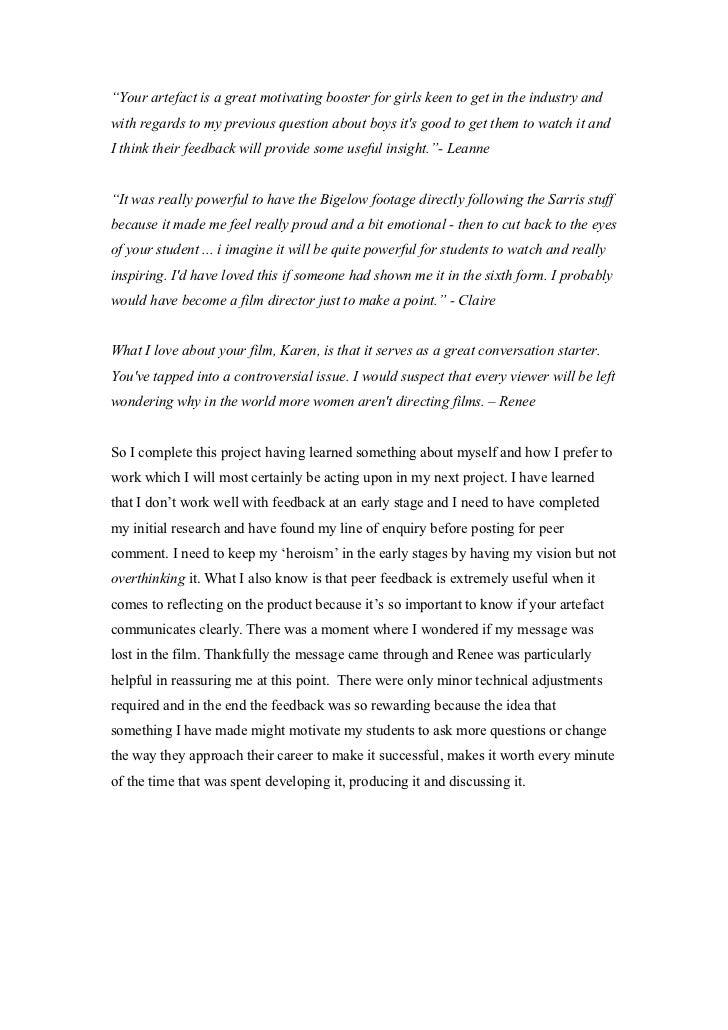 Criterion essays