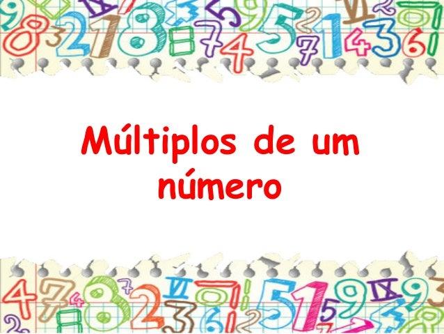 Múltiplos de um número