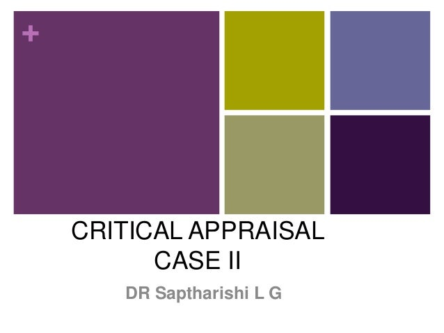 +  CRITICAL APPRAISAL PEARLS IMMUNIZATION CASE II DR Saptharishi L G
