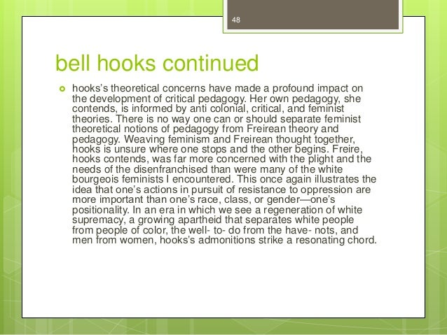 bell hooks essay eating the other Bell hooks, eating the other: desire and resistance presentation marie cambe loading bell hooks and kevin powell:.