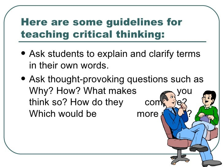 critical thinking courses uk