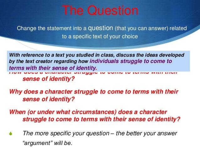 individual identity essay