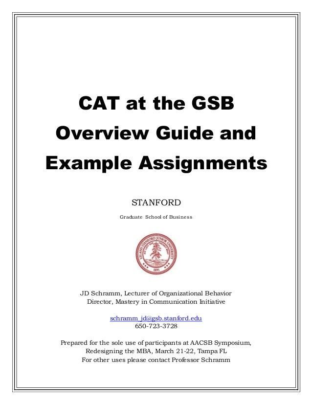 Write my stanford gsb essays that worked