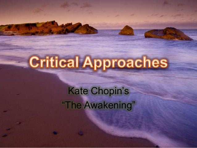 "critical essays on kate chopin the storm Free essay: the storm in kate chopin's short story ""the storm"", the narrative surrounds the brief extramarital affair of two individuals, calixta and alcee."