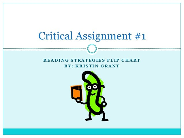 Critical Assignment 1 Reading Strategies
