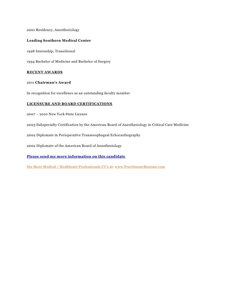 anesthesiologist assistant cover letter - Template