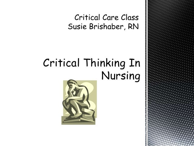 critical thinking classes csulb