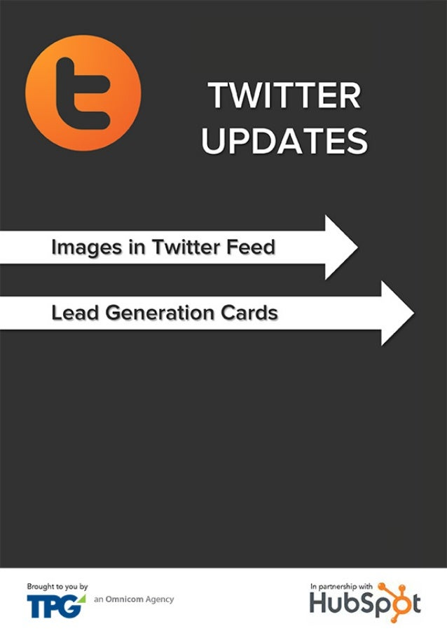 TPG-Hubspot: Critical Changes to Twitter 2014