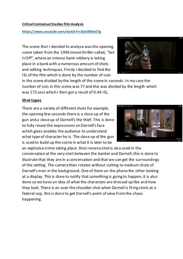 "critical essay film Critical essay on film read chapters 4, 5, and 6 in timothy corrigan's book a short guide to writing about film, mark conrad's essay ""reservoir dogs: redemption."