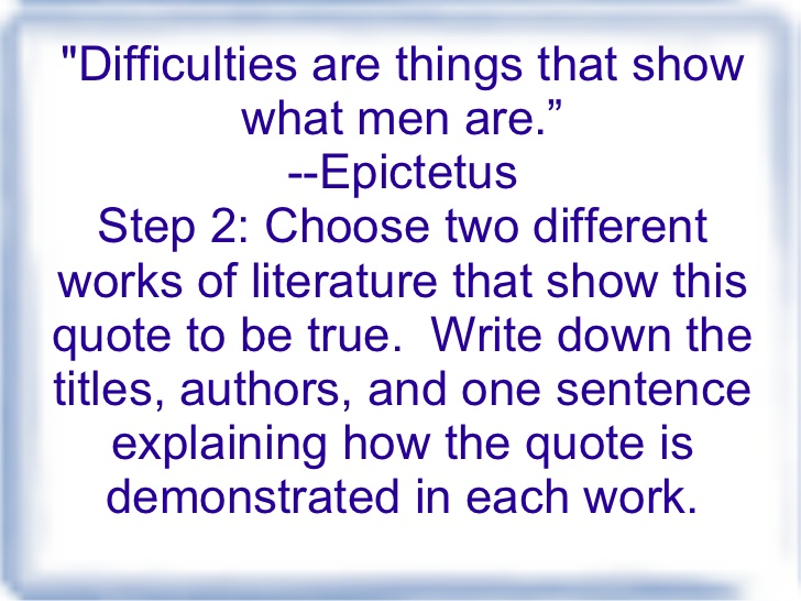 steps to writing a essay