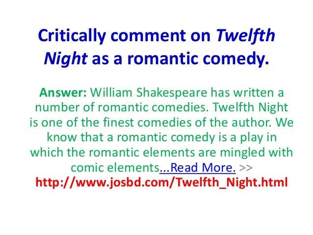 twelfth night criticism essay