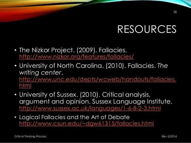 information is beautiful Rhetological Fallacies  A list