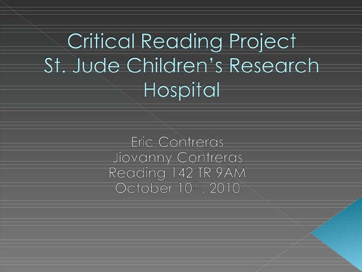 Critical Reading Project