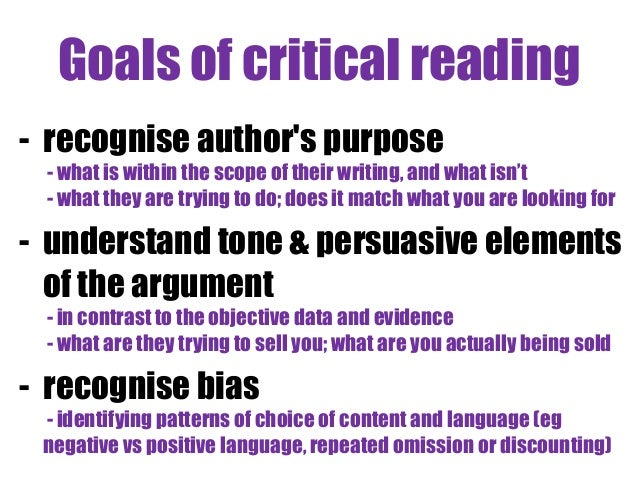 critical thinking critical reading and critical writing Using critical thinking and critical reading skills to analyze and evaluate a text so you can make your own arguments about it critical writing is contrasted with descriptive writing, where you just explain what someone else thinks.