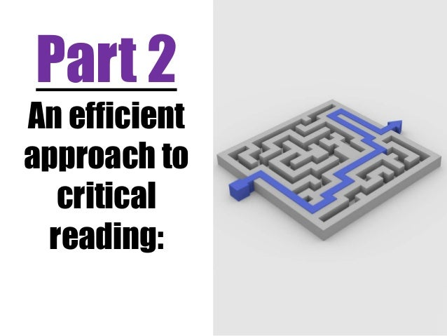 critical reading critical thinking Available in: paperback the first developmental reading book to take a contemporary issues approach, critical reading, critical thinking.