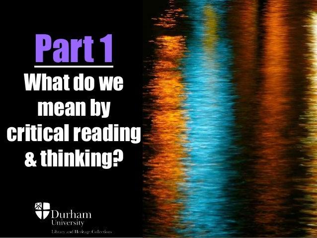 hum 111 critical thinking