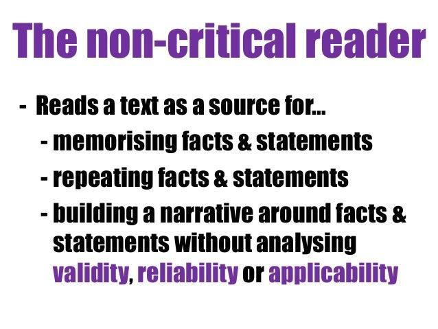 How do you write a report critically evaluating a website?