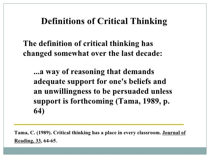Write my what is a critical thinking essay