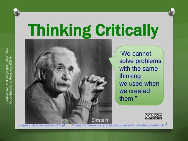 good topics for critical thinking