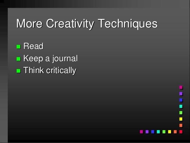 Journal critical thinking