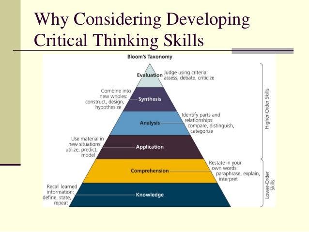 Write my develop thinking skills