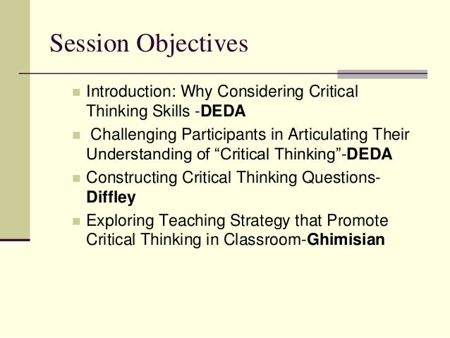 strategies to develop critical thinking for elementary students