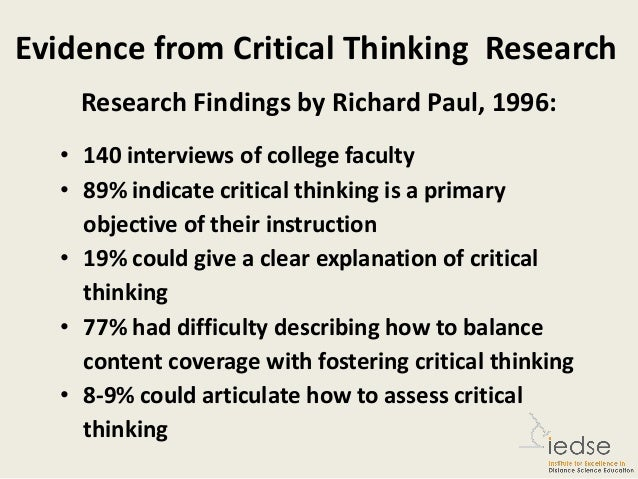 what are six critical questions in critical thinking