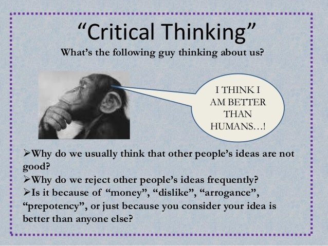 types of critical thinking