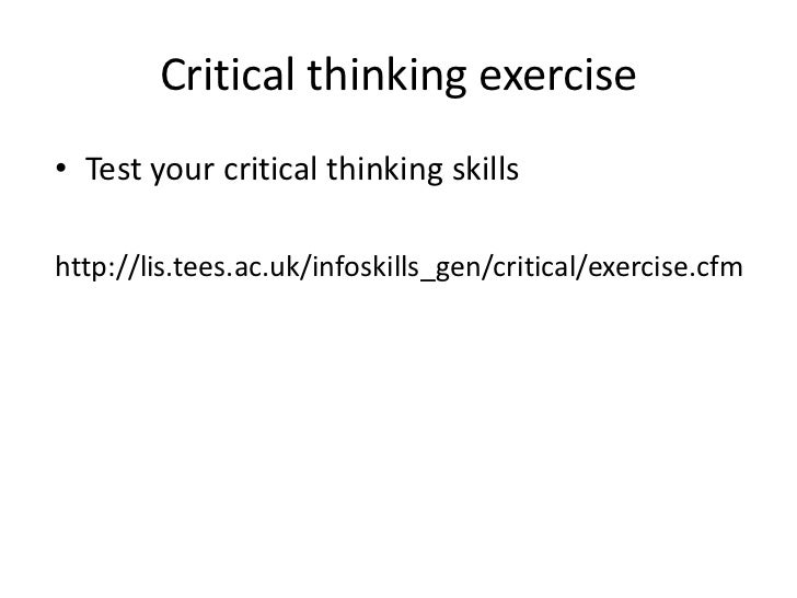 Critical thinking through debate ebook