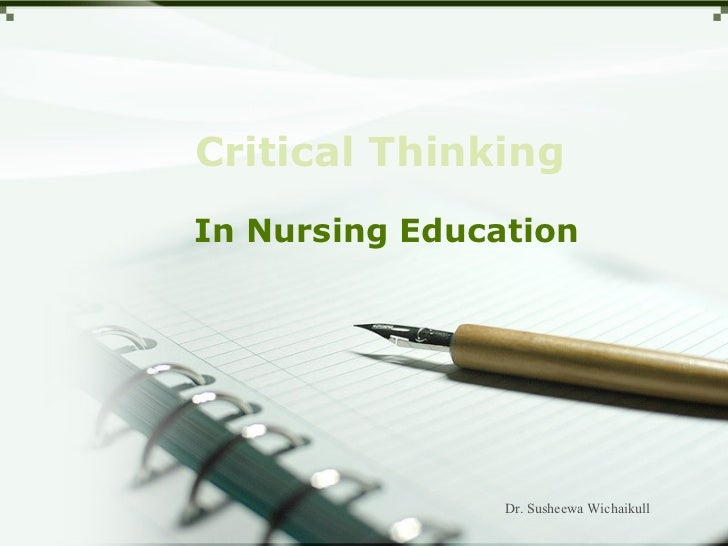Critical thinking 22 08-55