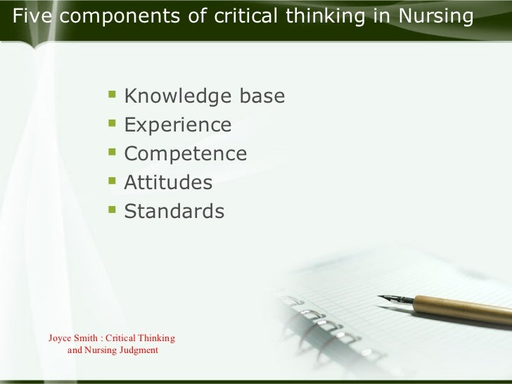 Critical Thinking In Nursing Practice Pptx - image 7