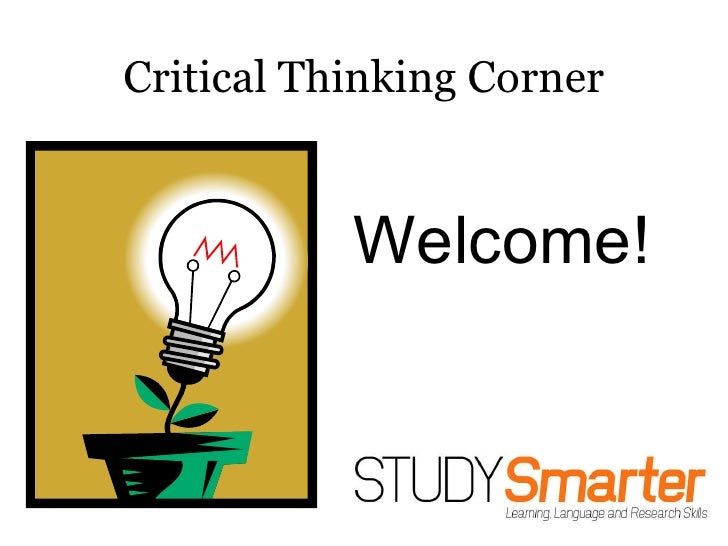 critical thinking as an instructional strategy Running head: critical thinking perceptions of critical thinking: seeking instructional strategies in the development of critical thinking skills.