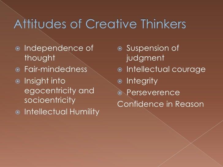 Critical mindedness