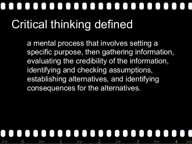 critical thinking as level flaws Critical thinking level i introduction 3 and logical flaws documents similar to tools for critical thinking.