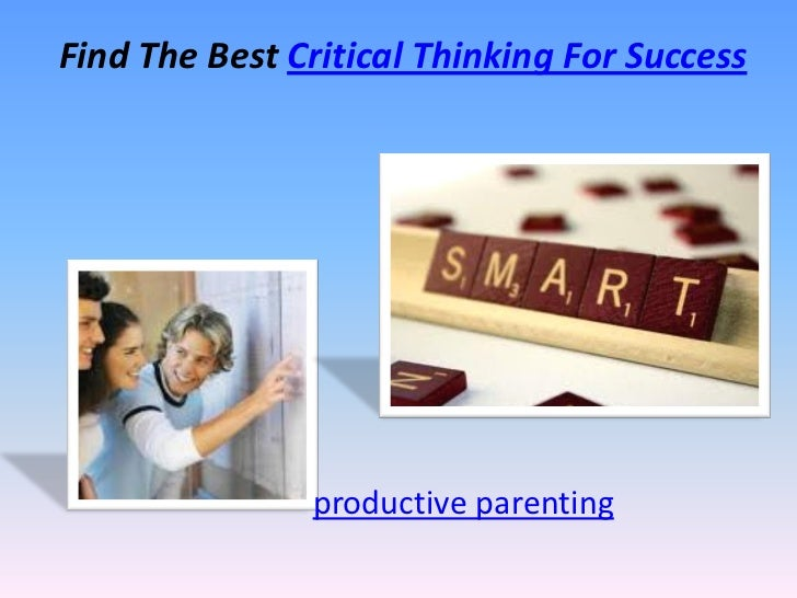 is critical thinking important to academic success Employer priorities for college learning and student success  critical thinking,  for advancement and long-term career success which is more important for .