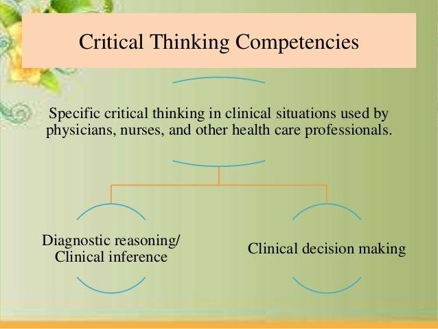 critical thinking rubric