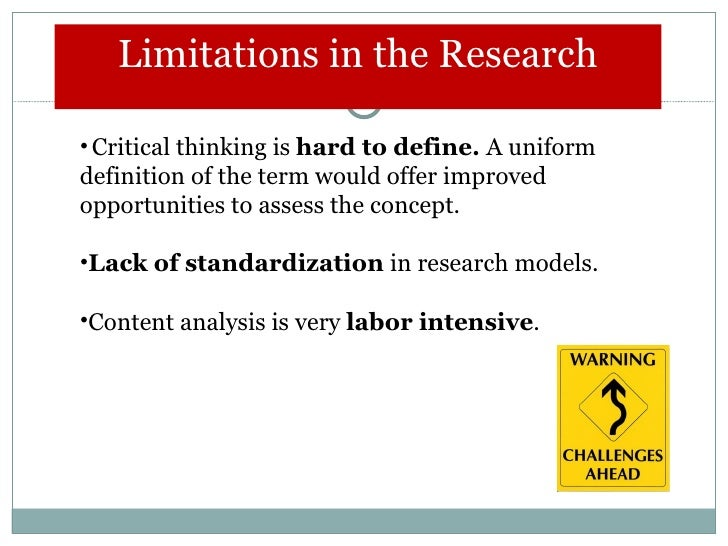 critical thinking in research papers In this paper a critical and creative situation will be discussed to determine the similarities of these two concepts, characterize, and identify the thought process of free will, truth, knowledge, and opinion, identify three hindrances of critical thinking, and identify, and distinguish the perception of a message in an advertisement.
