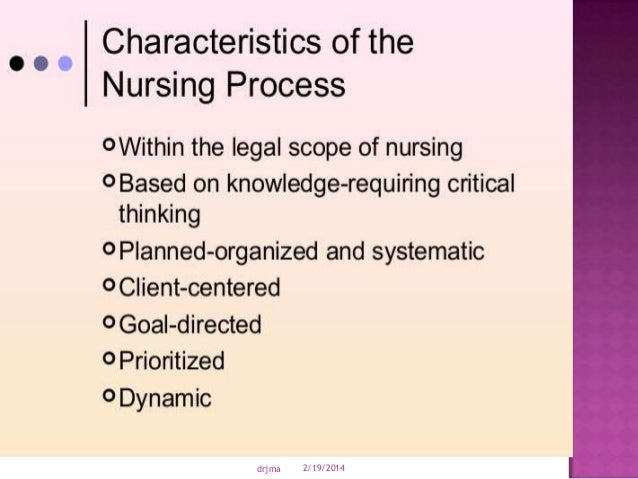 nursing process critical thinking questions