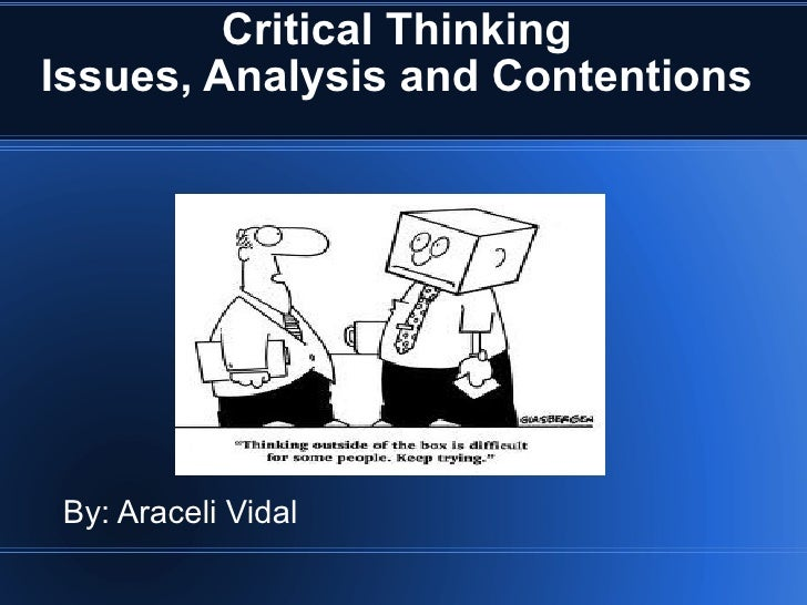 hum/111 critical thinking powerpoint presentation