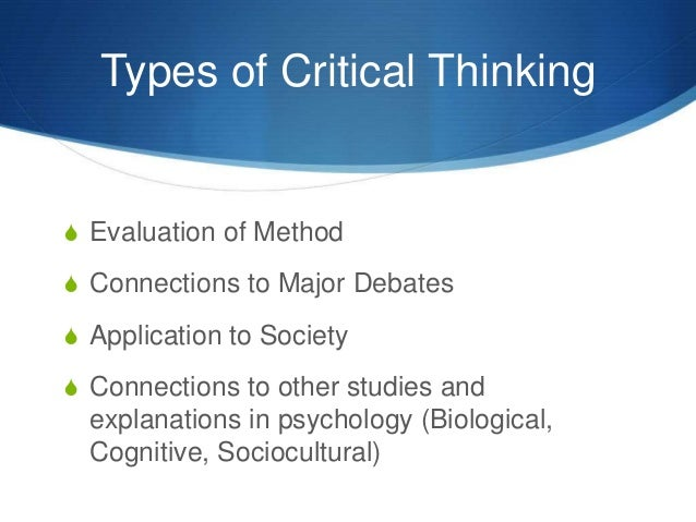 critical thinking quiz 14 A score of 70% or better on this quiz is considering passing you must make a 70 % or better in order to receive credit for your enrichment event your results will automatically be sent to the key center department.