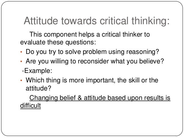 critical thinking presentation ppt The foundation for critical thinking wwwcriticalthinkingorg understanding the relationship between critical and powerpoint presentation last modified by.