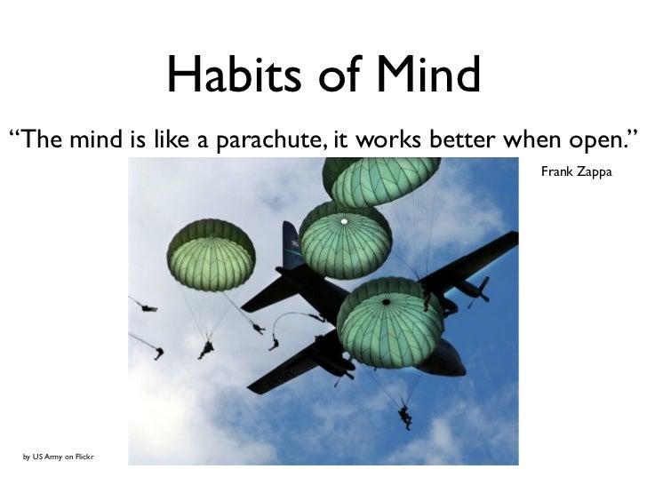 habits of mind essay