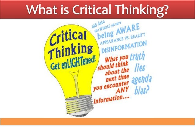 what is the concept of critical and creative thinking No one disputes the importance of critical thinking as a goal of education it is what we expect students to practice, engage with, and advance in during their years in school, leading to their full participation as.