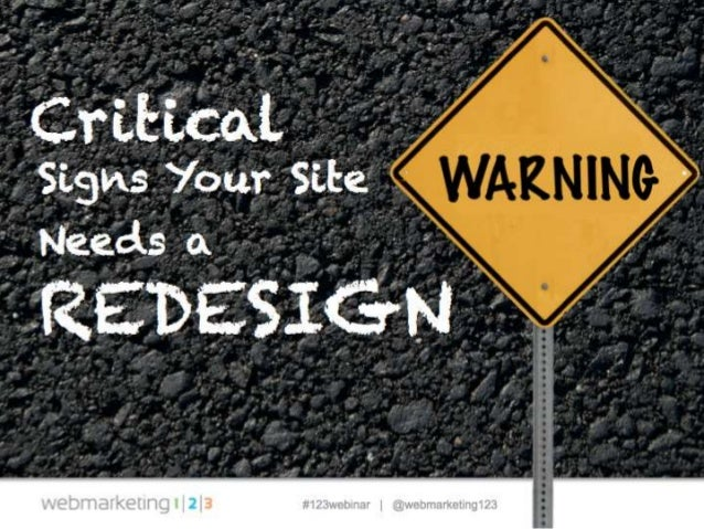 Critical warning signs your site needs a redesign 031814