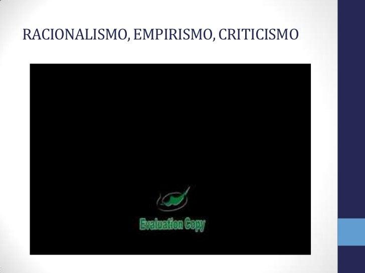 Criticismo