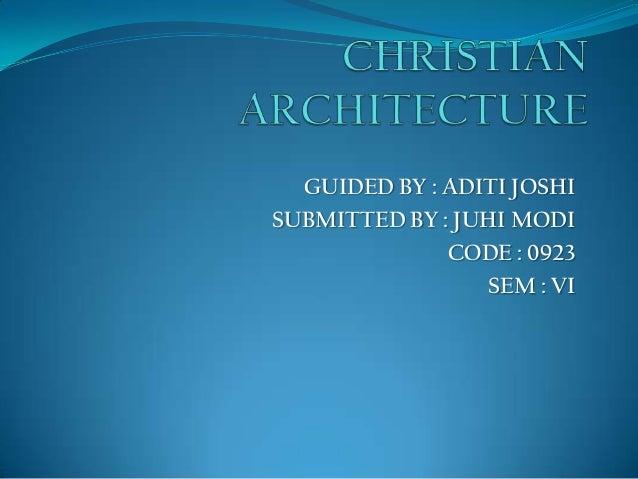 GUIDED BY : ADITI JOSHI SUBMITTED BY : JUHI MODI CODE : 0923 SEM : VI